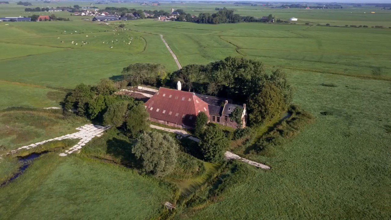 Locatie voor het nieuwe klooster te Westerhûs