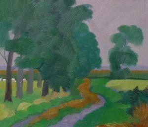 Brabant, olieverf op paneel, 36x42 cm
